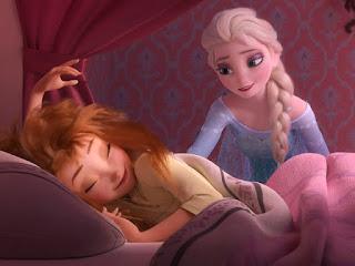 Gambar Elsa dan Anna Frozen wallpaper 14