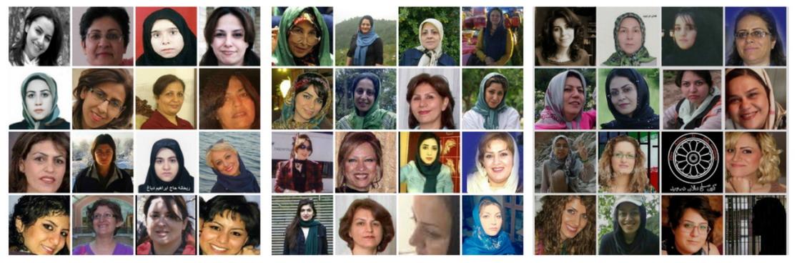 بیاد شیر زنان زندانی در زندانهای جمهوری اسلامی