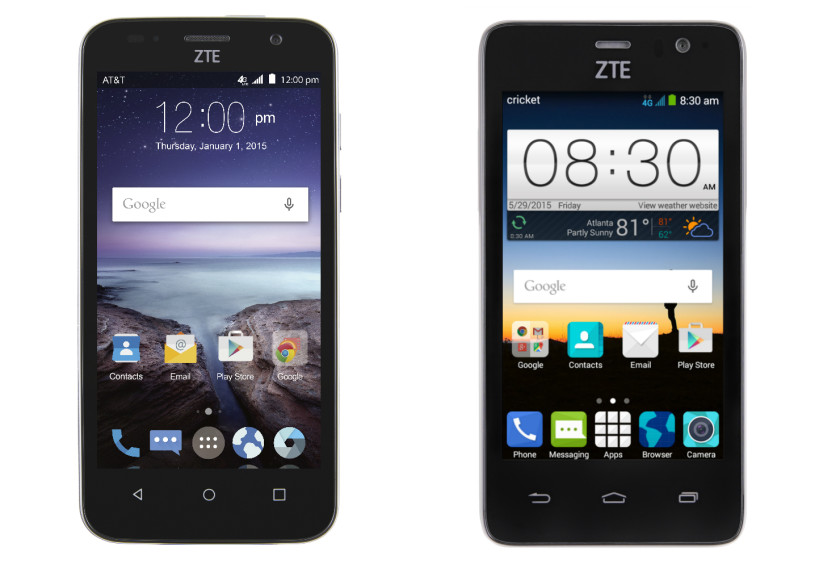 California Phonezoo zte maven 2 4g lte looks