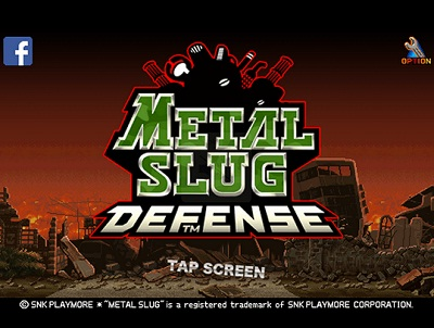 game pertualangan Metal Slug Defence