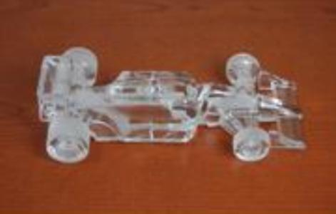 F1 Car Replica From Crystal