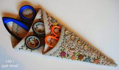 Scissor case quilt + PATTERN