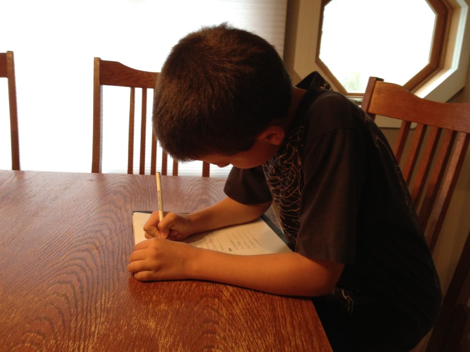 BigFamiliesBigIdeas: Is Your Homework Done?