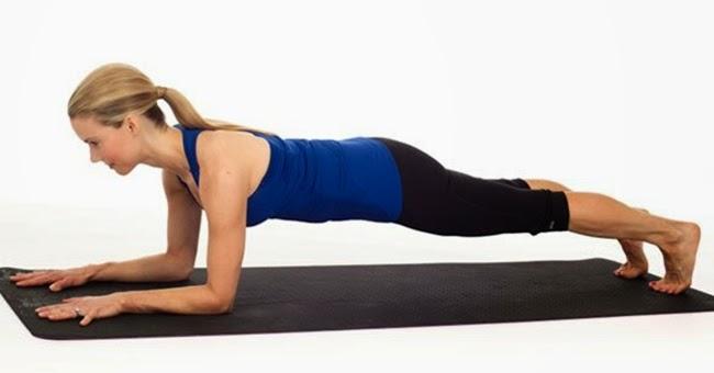 3. Forearm plank