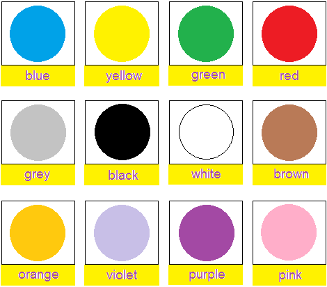 Image Result For Colors For Toddlers