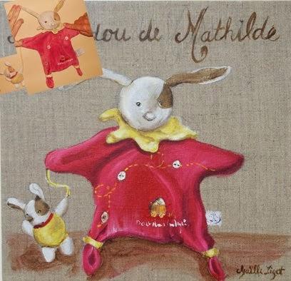 Le doudou de Mathilde
