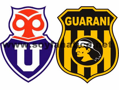 U de Chile vs Guarani - Reprechaje Copa Libertadores