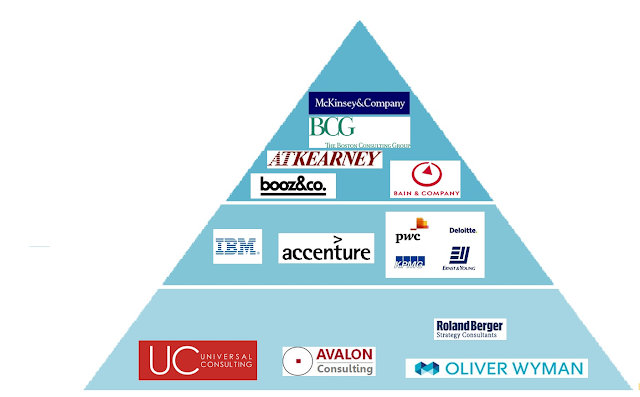 Consultant Industry Pyramid