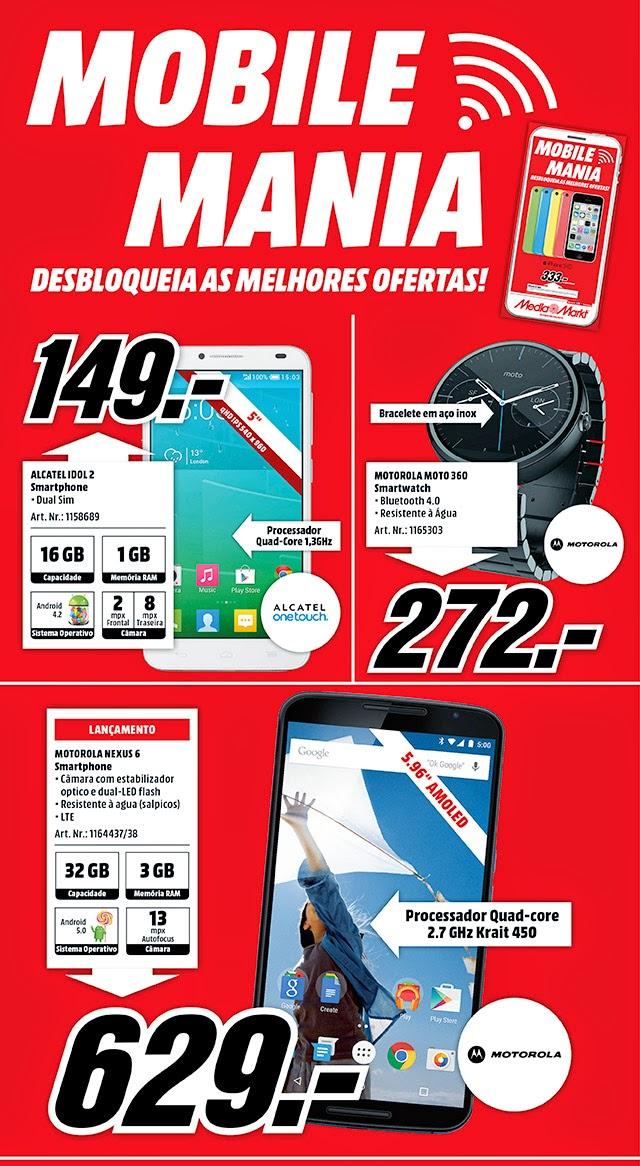 Folheto Mediamarkt Mobile Mania