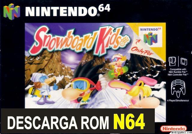 Snowboard Kids n64 descarga rom