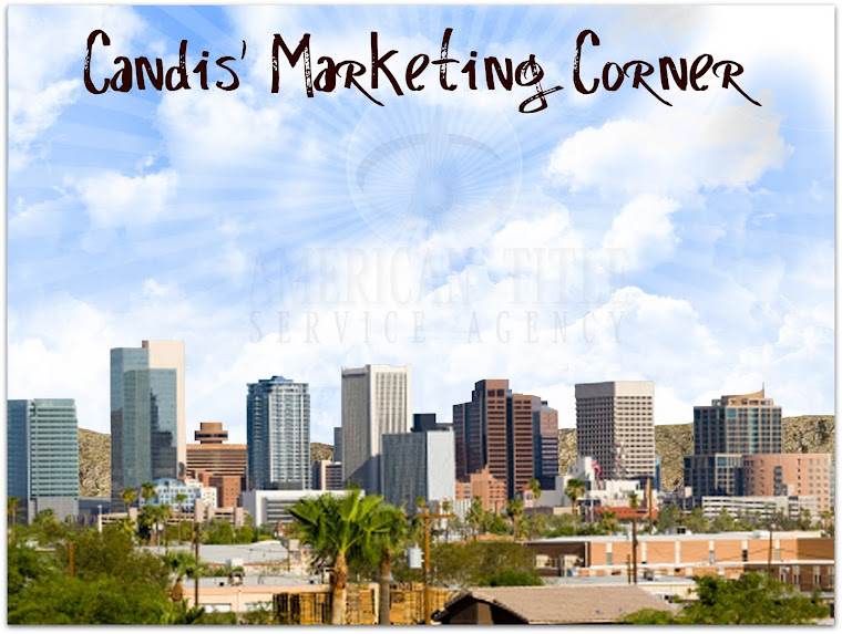 Candis' Marketing Corner