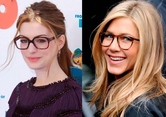 Famosas con gafas