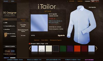 Review camisa personalizada de iTailor.