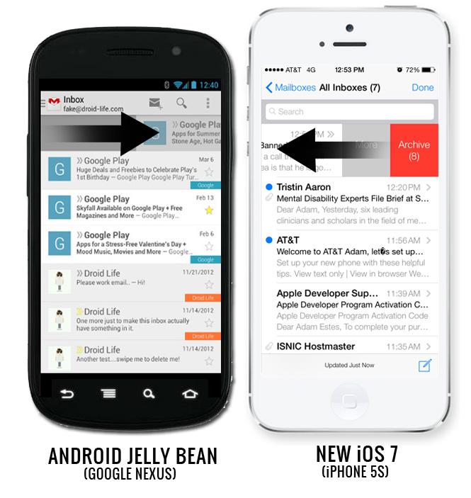 iOS 7 Mailbox