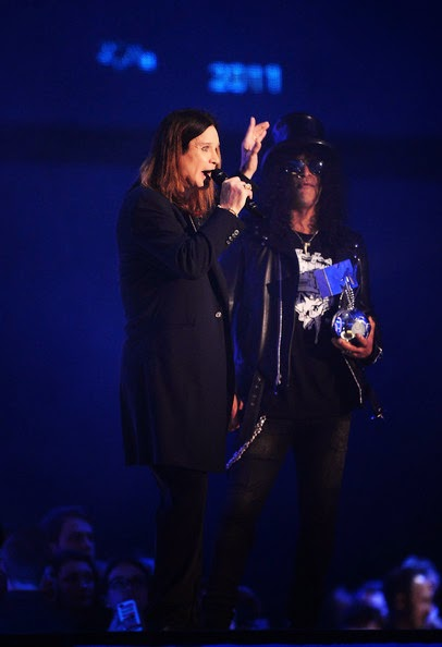 Ozzy - Slash - mtv - ema - 2014 - glasgow