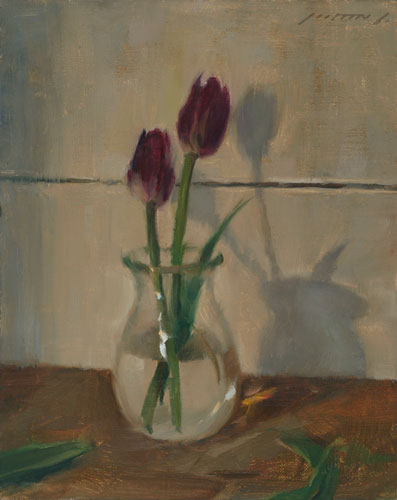 Best-jzaperoilpaintings-Two-Tulips-Oil-Paintings-Image