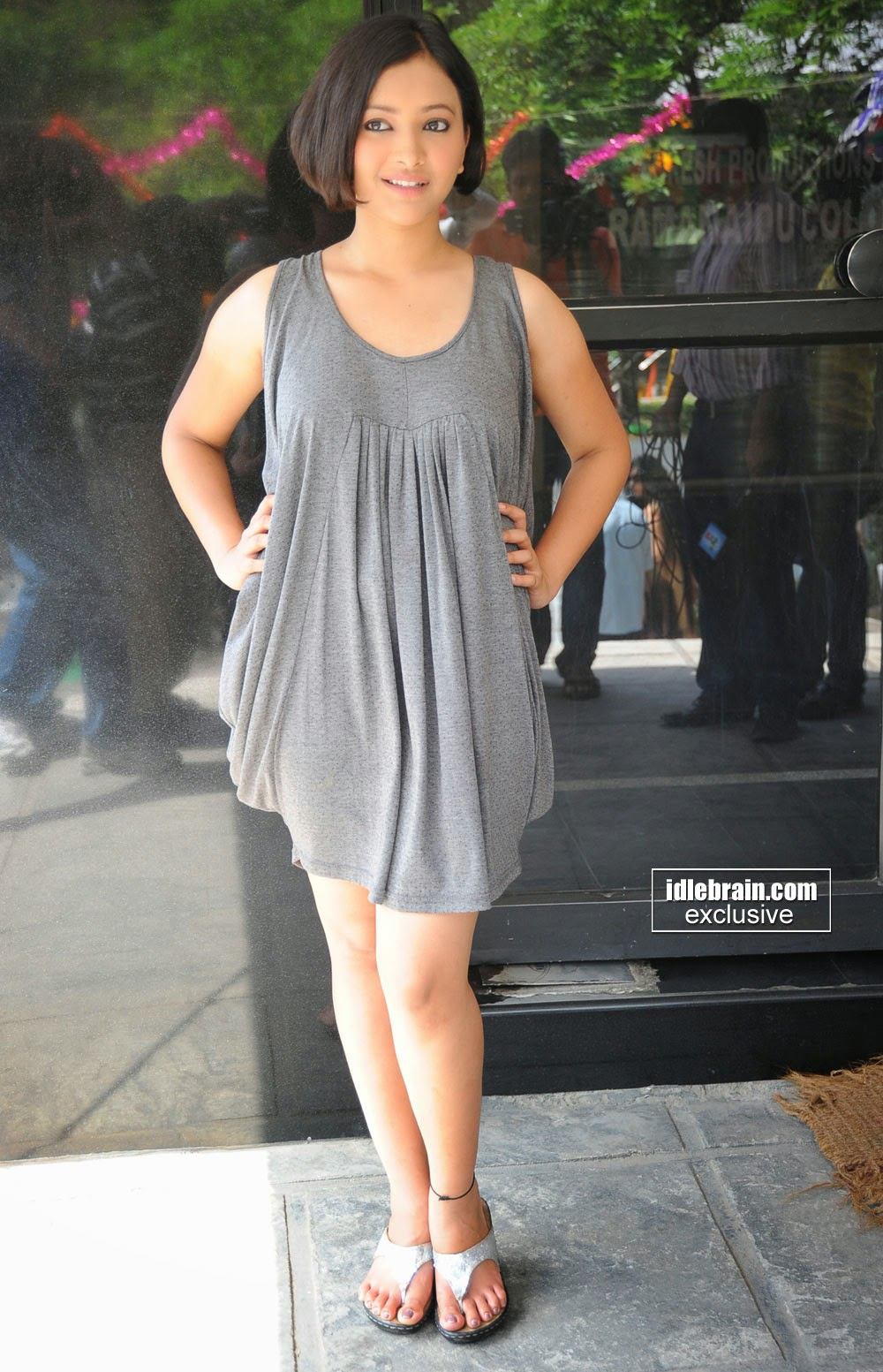 Swetha Basu at Movie 9 Entertainment Opening
