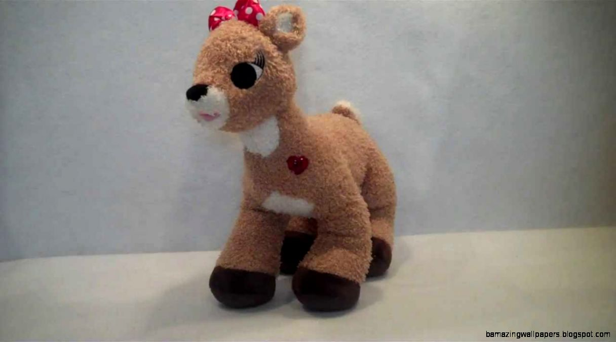 Rudolph the Red Nosed Reindeer Talking Clarice Plush By Build a