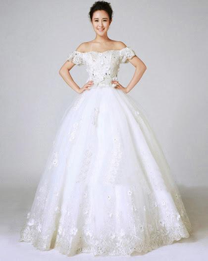 chọn váy cưới cho cô dâu nấm lùn váy cưới không có tay