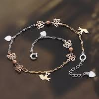 Lady Sazen and the Drenched Swallow Sword, single leg anklets online shopping in Saudi Arabia, best Body Piercing Jewelry