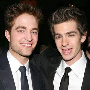Robert Pattinson Andrew Garfield on Robert Pattinson  Robert Pattinson Se Reuni   Con Andrew Garfield Para