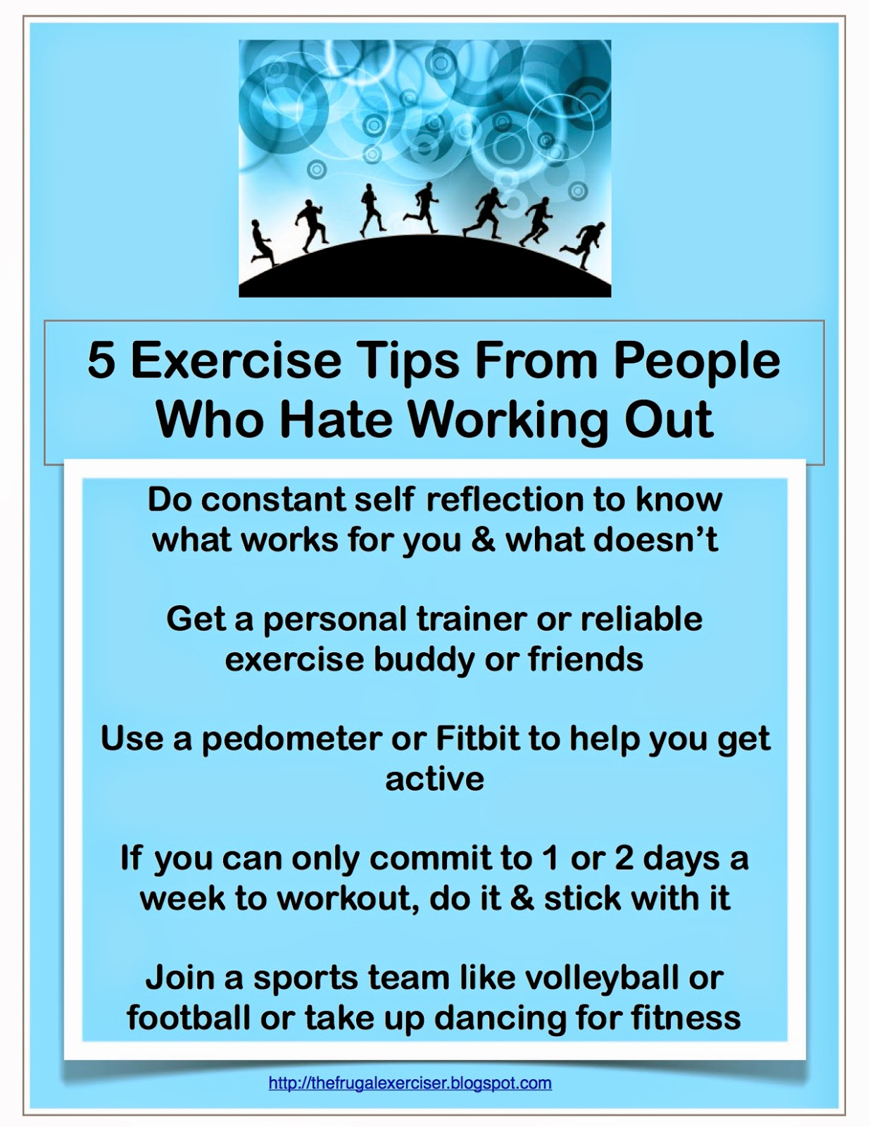 Hate-to-exercise