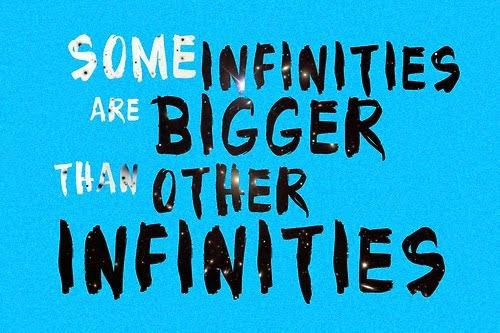 Algunos infinitos son mas grandes que otros infinitos♥