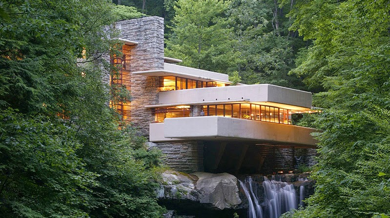 Fallingwater House 1935
