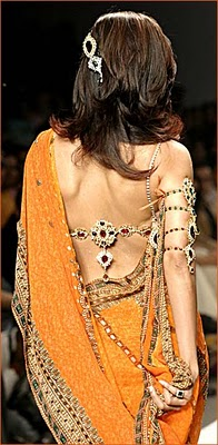 Latest Saree blouse back designs