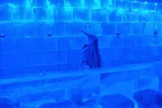 Ice bar in Lapland