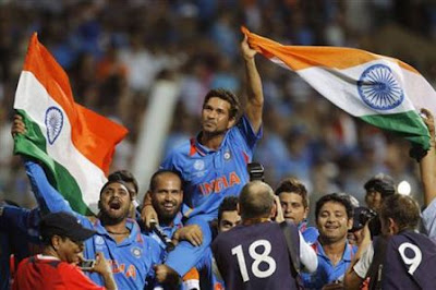 India  World Cup 2011 Celebration Pics