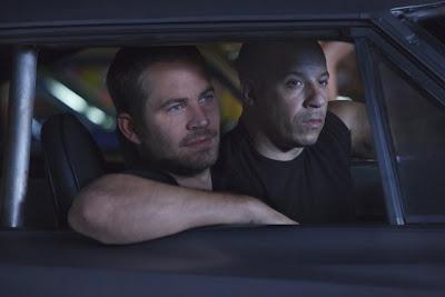 Vin Diesel and Paul Walker in Fast Five movie