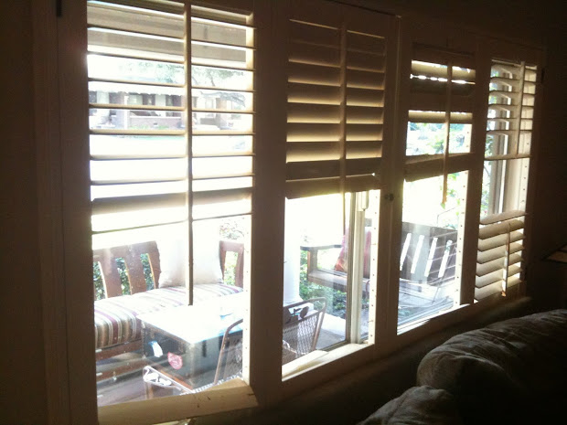Plantation Window Shutters Interior