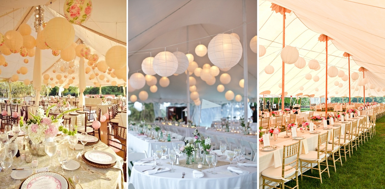 Wedding tent decoration steves decor from chandelier to lanterns to anything in between were in love with this romantic and stunning trend hanging wedding decor definitely adds a layer of junglespirit Choice Image