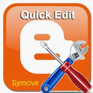 Cara Menghilangkan Logo Tang (Quick Edit) pada Blog
