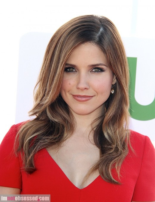 Sophia Bush Is Radiant In Red » Celebrity Style | Sophia Bush