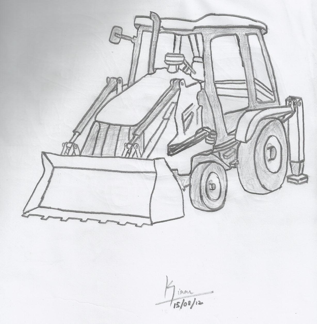 Drawing Car - Free Hand Sketching