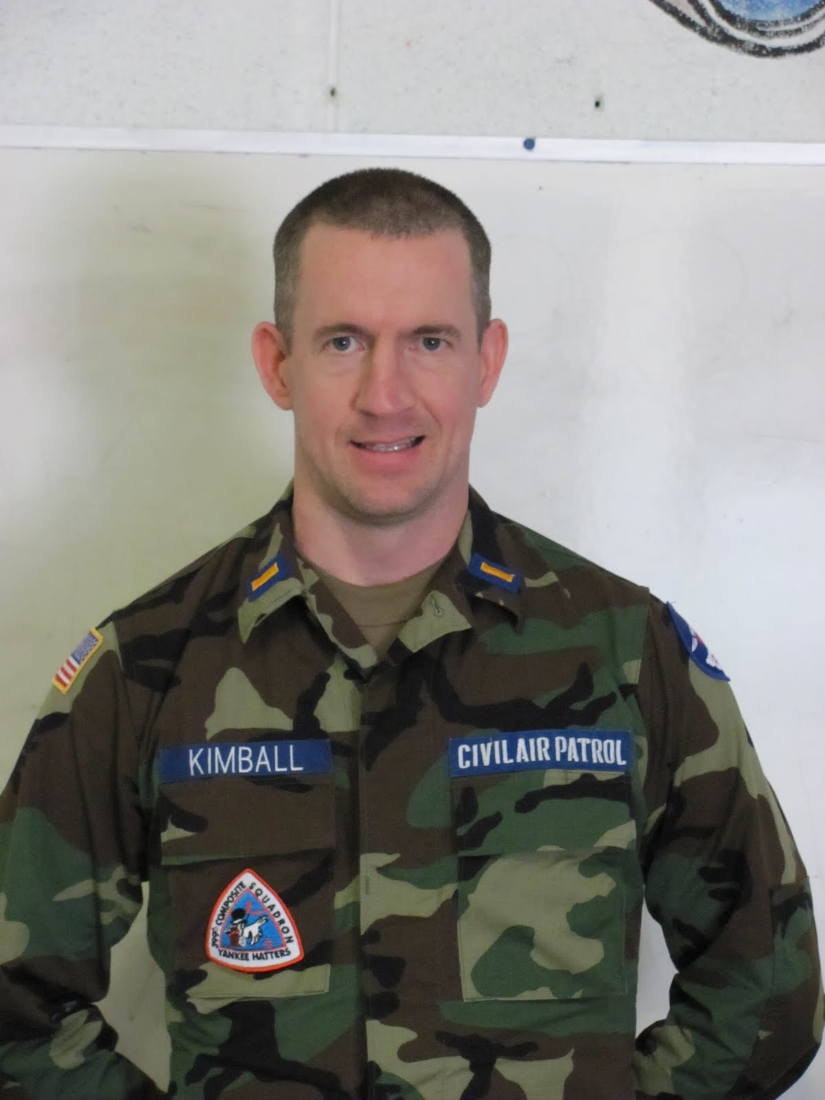 Senior Member 2nd Lt Thomas Q Kimball  Former member of Civil Air Patrol