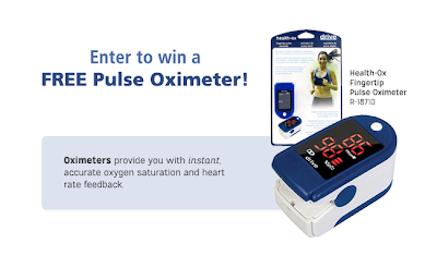 Enter to win a Pulse Oximeter