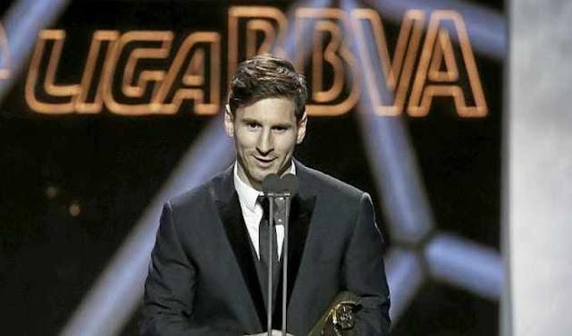 """La espeial dedicatoria de """"la Pulga"""" Lionel  Messi a su hijo"""