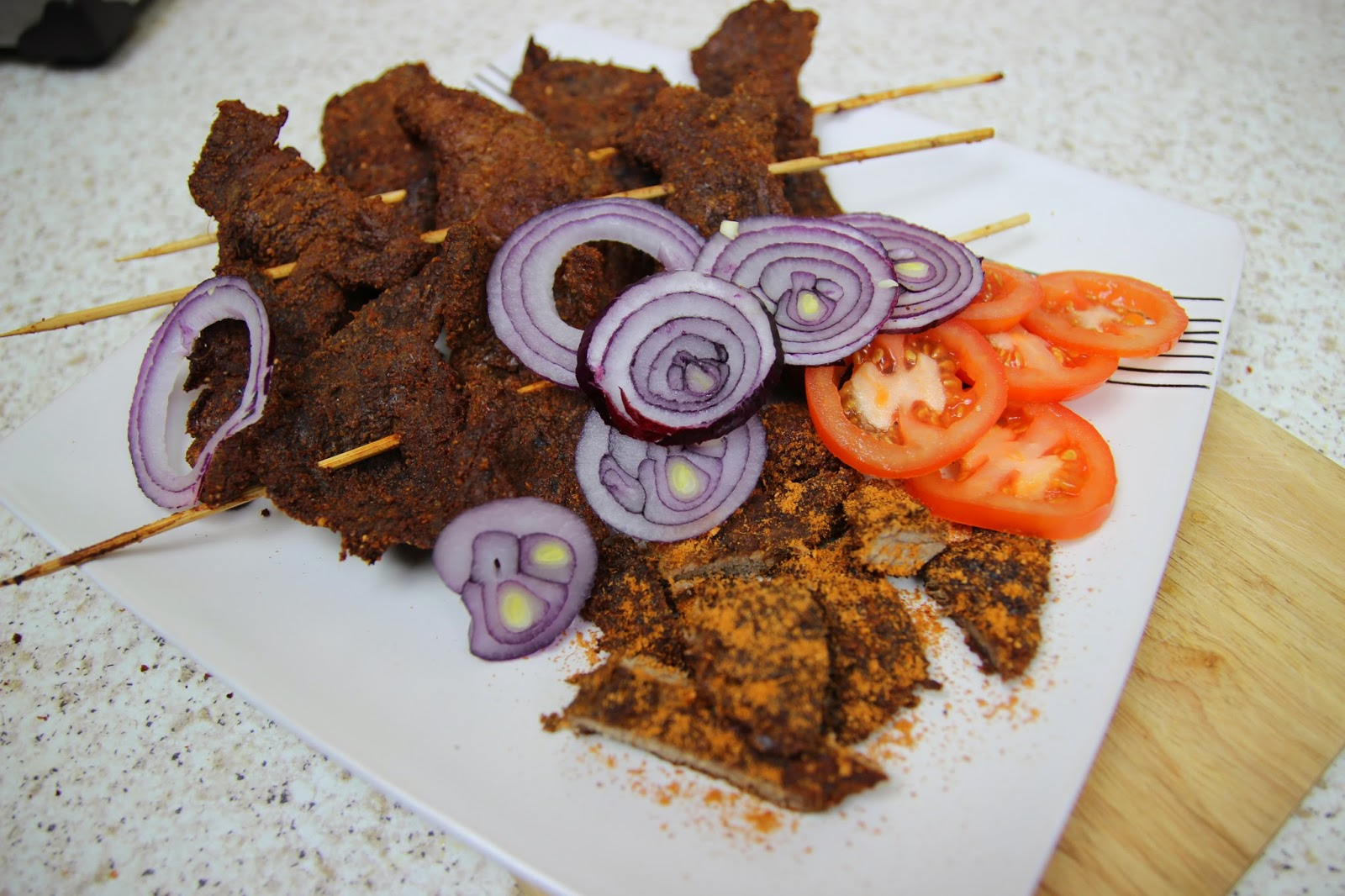 How to make Nigerian Suya_Nigerian Food recipes
