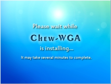 Chew-WGA para activar cualquier version de windows 7 ~ Programas Spica