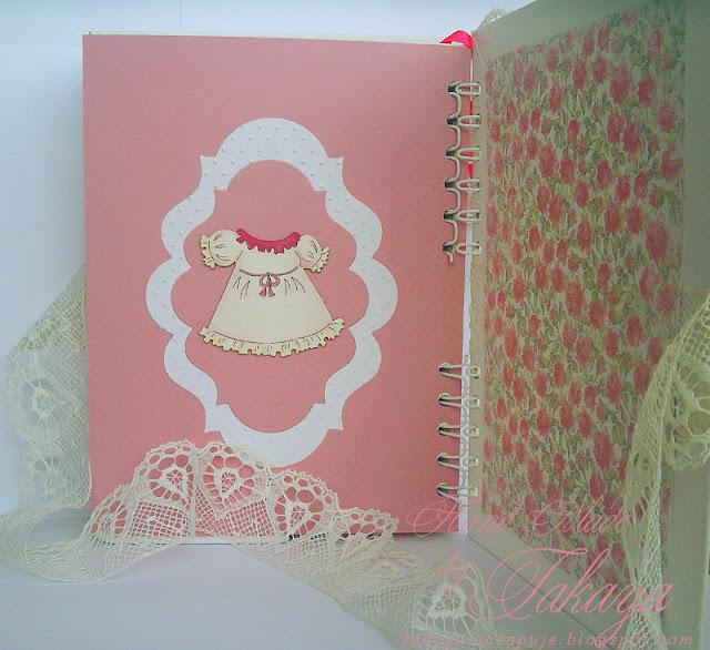notes dla mamy; różowy; słodki; z koronką