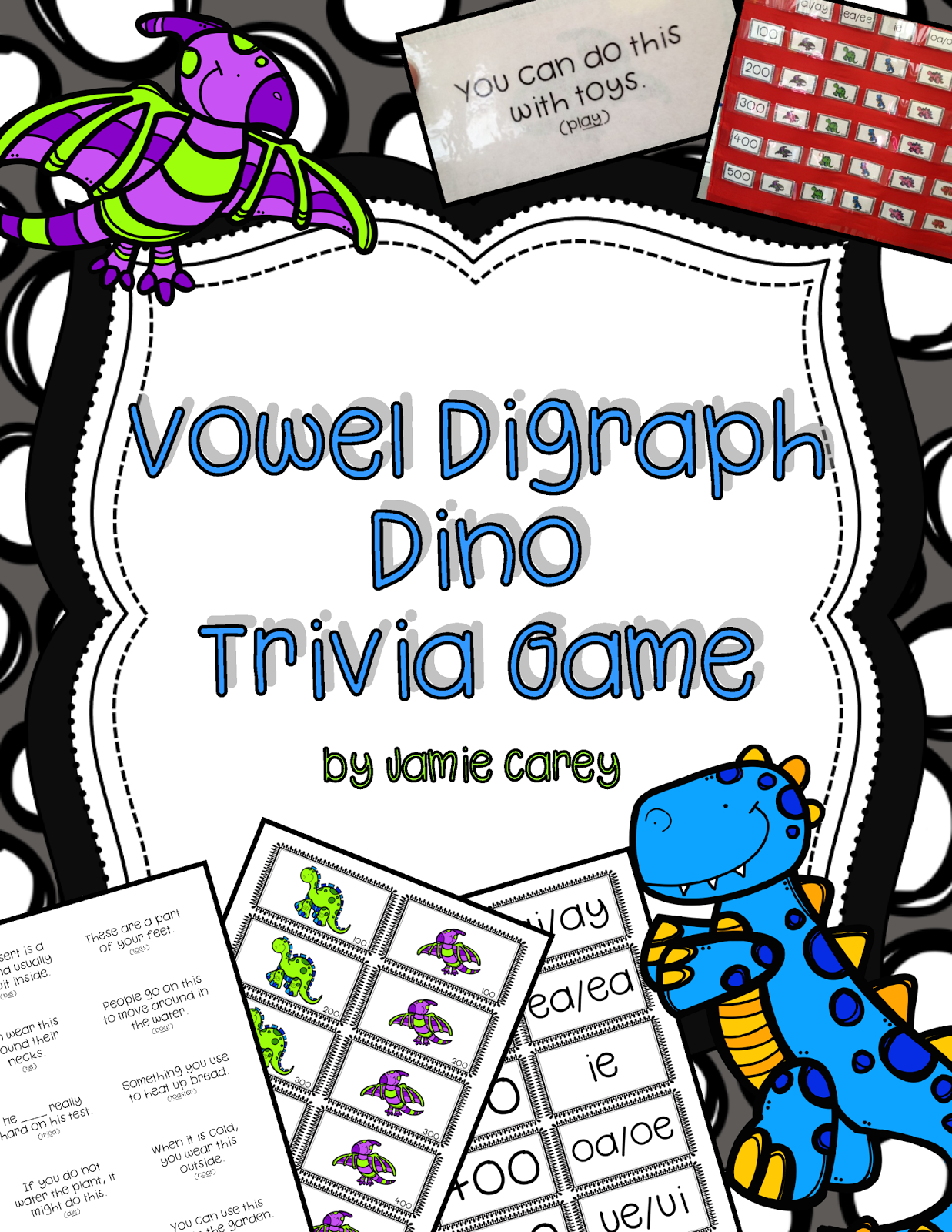 https://www.teacherspayteachers.com/Product/Vowel-Digraph-Dino-Trivia-Game-1763535