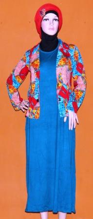 Grosir Baju Muslim Murah Tanah Abang Gamis Rompi Gkm4535