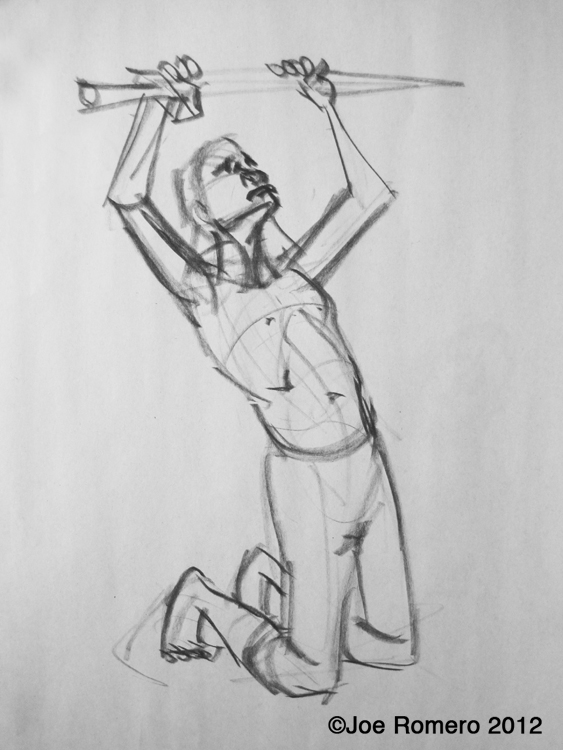 joe u0026 39 s art and animation  gesture drawing male