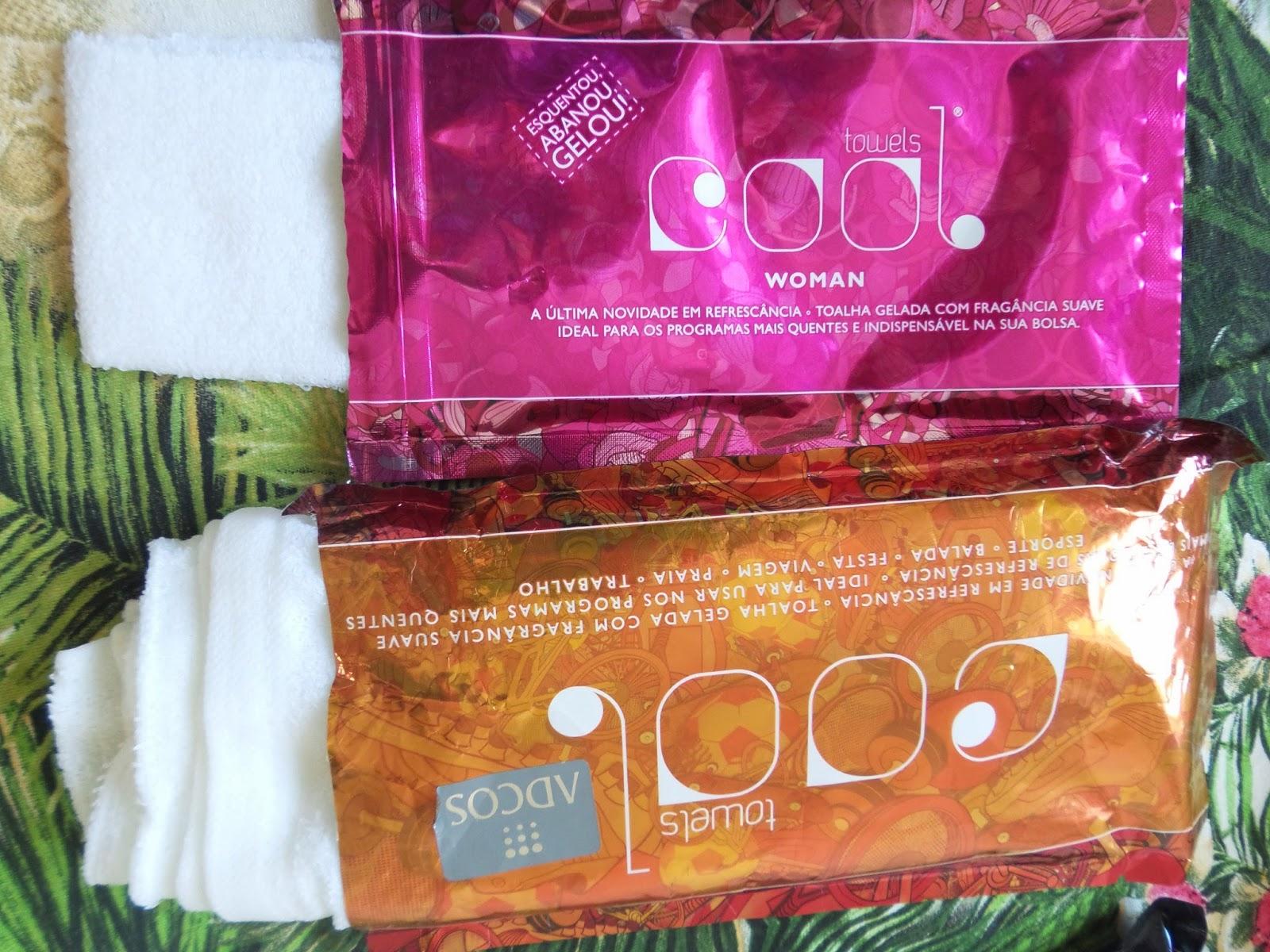 Toalha Gelada:   Cool Towels Adcos