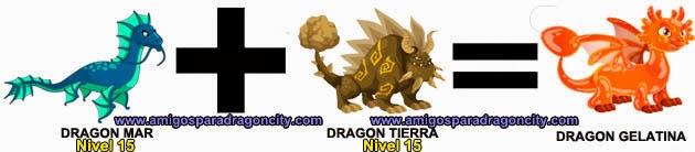 como hacer el dragon gelatina de dragon city formula 1