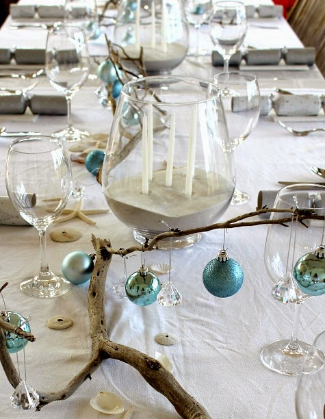 Top coastal candle centerpieces for a warm festive table