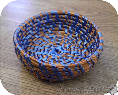 Tiny Pine Straw Basket